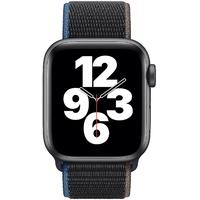 Apple Watch SE GPS + Cellular 40 mm Aluminiumgehäuse space grau, Sport Loop kohlegrau