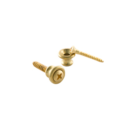 Gibson Strap Buttons Brass 2 pc.
