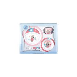 Sterntaler® Kindergeschirr-Set Geschirrset Esel Erik, 5 t-lg. rosa