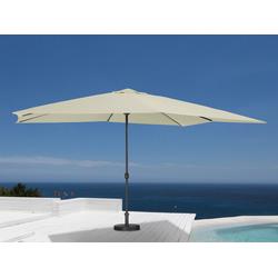 garten gut Sonnenschirm, ohne Schirmständer beige Sonnenschirme -segel Gartenmöbel Gartendeko Sonnenschirm