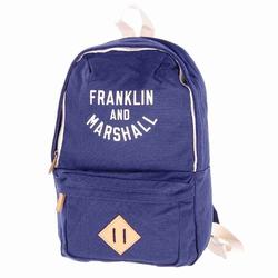 Rucksack FRANKLIN & MARSHALL - Varsity mini backpack - dark blue solid (25) Größe: OS