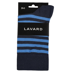Lavard Socken für Herren in Streifen-Optik 73931  39-41