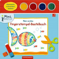 Mein erstes Fingerstempel-Bastelbuch als Buch von