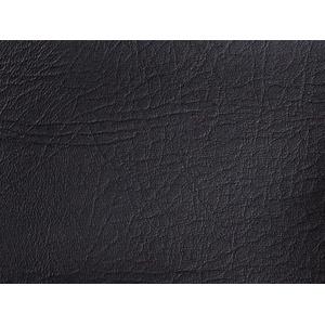 Kunstleder Leder Meterware Polsterstoff Stoff 140cm Bezugsstoff Leder schwarz