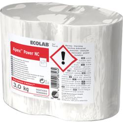 ECOLAB Apex Power NC Spülmittel, Hochkonzentriertes Maschinen-Spülmittel in Blockform, 1 Karton = 4 x 3,0 kg Blöcke