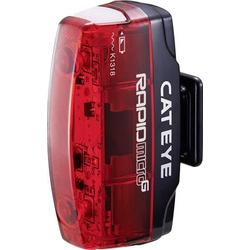 Cateye Fahrrad-Rücklicht Rapid Micro G TL-LD 620G LED akkubetrieben Rot, Schwarz