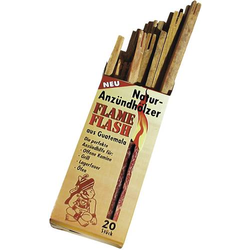 Swissinno Anzündhölzer Holz 1 200 115 Flame-Flash Anzünder