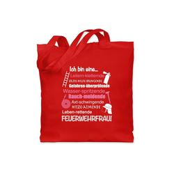Shirtracer Umhängetasche Ich bin eine ... Feuerwehrfrau! - Feuerwehr - Jutebeutel lange Henkel - Jutebeutel & Taschen, feuerwehr jutebeutel