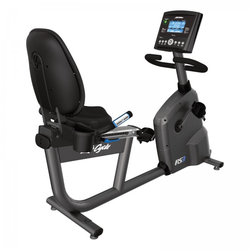 Life Fitness Liegeergometer RS3 Go deutsche Konsole