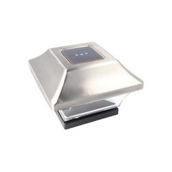 EZ SOLAR LED Gartenleuchte Zaunpfostenleuchte Solar LED Leuchte für Zaunpfähl