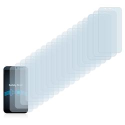 Savvies Schutzfolie für Shiftphones Shift6m, (18 Stück), Folie Schutzfolie klar