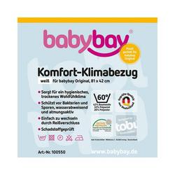 Bettlaken Klima-Bezug für babybay original, 81 x 43 cm, Tobi