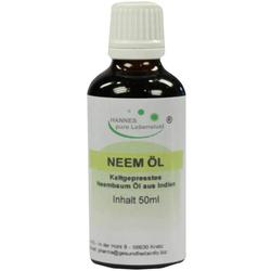 Neem-Öl Kaltgepresst Aus Indien 50 ml