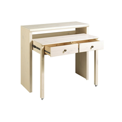 Schreibtisch oder Konsole weiß ca. 88/100/38-69 cm