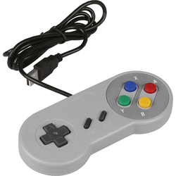 JOY-iT USB-Gamepad im SNES Design