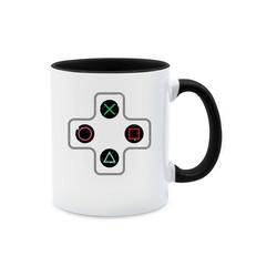 Shirtracer Tasse Gamer Controller - Nerds & Geeks - Tasse zweifarbig - Tassen, tasse gamer