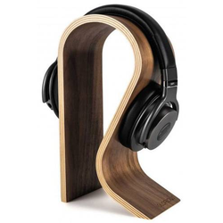 Glorious DJ 240750 Kopfhörerständer Passend für:On-Ear-Kopfhörer, Over-Ear-Kopfhörer Walnuss