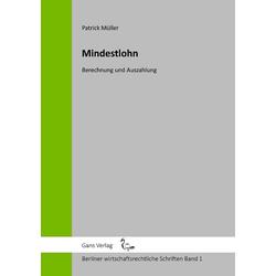 Mindestlohn als Buch von Patrick Müller