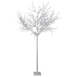 Steh Lampe 600x LED's Deko Garten Hof Baum XMAS Weihnachts Leuchte weiß Strahler