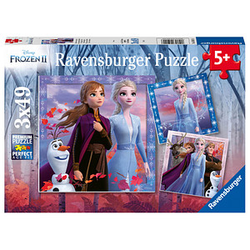 Ravensburger Disney Frozen Die Reise beginnt Puzzle 3x 49 Teile