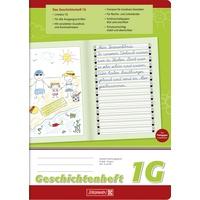 Brunnen Geschichtenheft A4 Lineatur 1G 16 Blatt