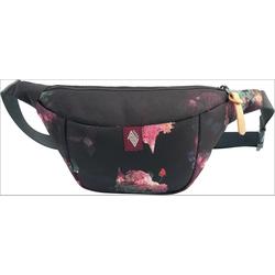 NITRO Gürteltasche Hip Bag, Black Rose schwarz Kinder Gürteltaschen Sport- Freizeittaschen