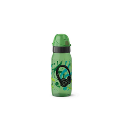 Emsa Trinkflasche Trinkflasche PP Drink2Go, Trinkflasche grün