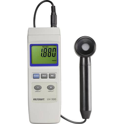 VOLTCRAFT UV-500 UV-Messgerät 0.002 - 19.99 mW/cm²