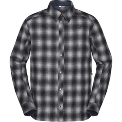 Norrona - Tamok Wool Shirt M Dark Grey - Hemden - Größe: L