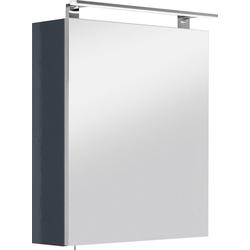 OPTIFIT Spiegelschrank Mino Breite 60 cm grau