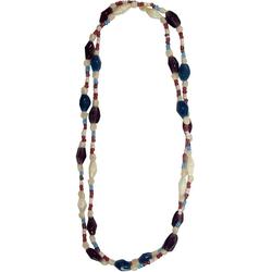 Guru-Shop Perlenkette Modeschmuck, Boho Perlenkette - Modell 10