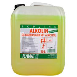 KAWE Alkolin Glanzreiniger mit Alkohol, Alkoholglanzreiniger, 10 l - Kanister