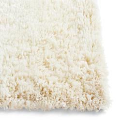 Shaggy Teppich 140 x 200 cm Cream  Hay