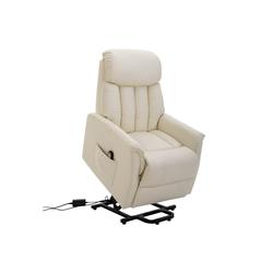 HOMCOM TV-Sessel Fernsehsessel mit Aufstehhilfe braun