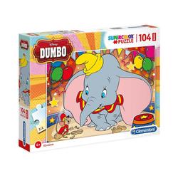 Clementoni® Puzzle Puzzle 104 Teile Maxi - Dumbo, Puzzleteile