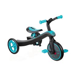 Globber Dreirad Dreirad Explorer 2 in 1 grün blau