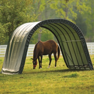 """ShelterLogic Weidezelt """"Run-In-Shed"""" Weideunterstand,grün,22,57 m²"""