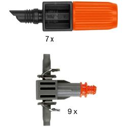 GARDENA Bewässerungssystem Micro-Drip-System, 13001-20, (Set, 61-tlg), Start-Set Pflanztöpfe M