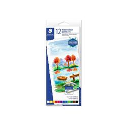 STAEDTLER Aquarellfarben, 12 x 12 ml