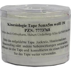 KINESIOLOGIE Tape 5 cmx5 m weiß 1 St
