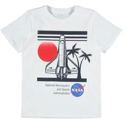 Name It T-Shirt NASA weiß Jungen T-Shirts Shirts Jungenkleidung
