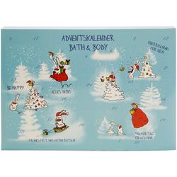 Lustiger Kosmetik Adventskalender für Erwachsene und Kinder - Weihnachtskalender