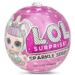 L.O.L. Surprise Sparkle Serie 1 Kugel – 7 Suprises – zufälliges Modell