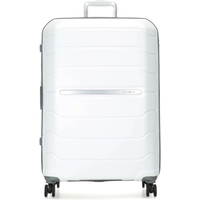 Samsonite Flux 4-Rollen 75 cm / 99-111 l white