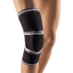 Bort StabiloGen® latexfrei Knie Gelenk Bandage Stütze Stabiliersung Entlastung, schwarz, XL Plus