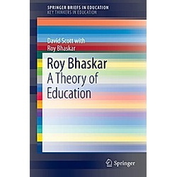 Roy Bhaskar. David Scott  Roy Bhaskar  - Buch