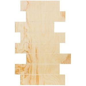 Holz-Schild, versetzt, 60 x 40 cm