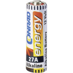 27A Spezial-Batterie 27A Alkali-Mangan 12V 20 mAh