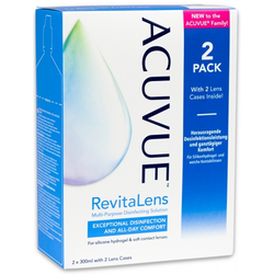 Johnson & Johnson  Acuvue RevitaLens 2 x 300ml 2 x