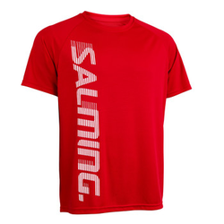 Salming Training Tee 2.0 128 cm, red